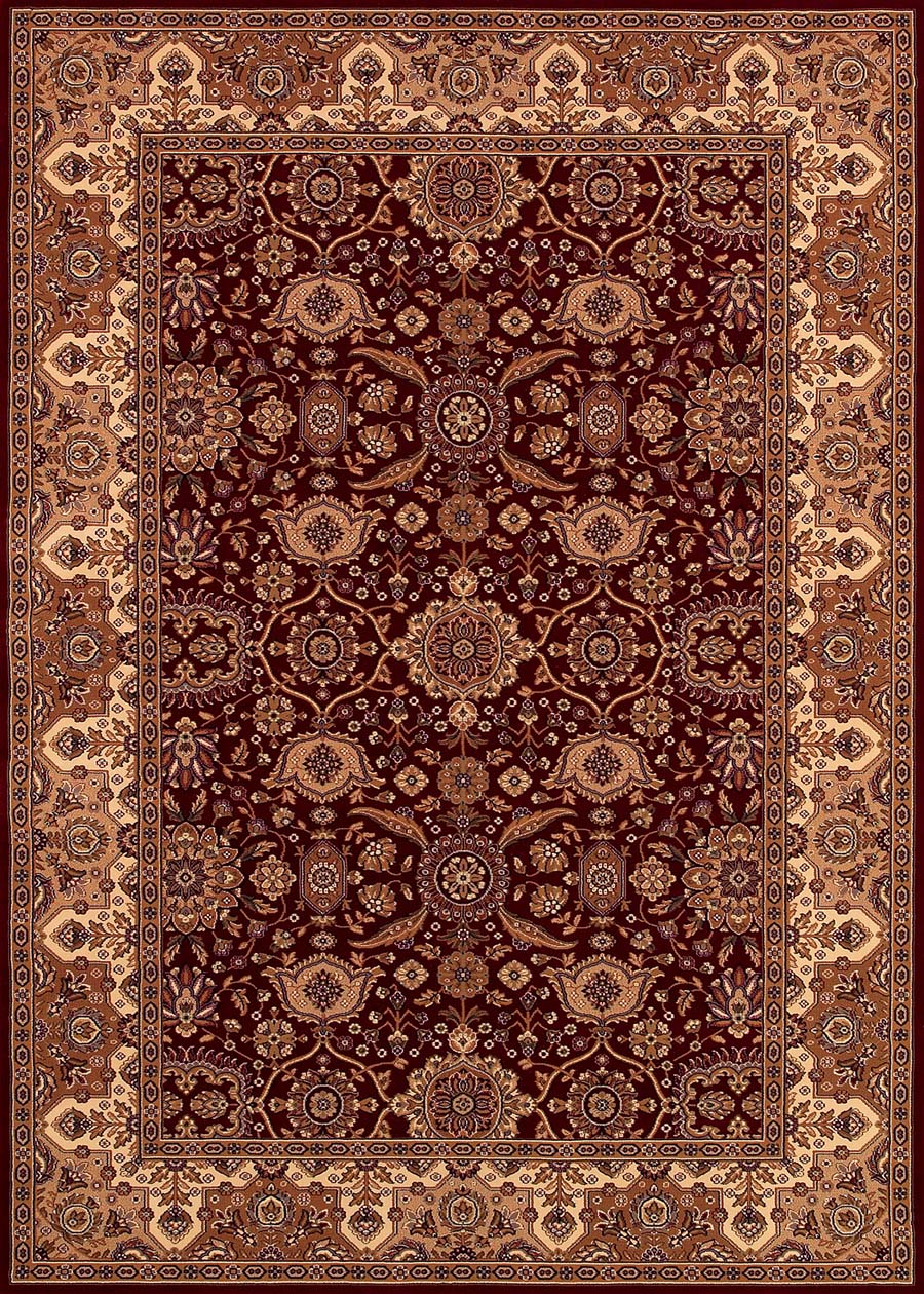 Couristan Himalaya 6288/3459 Kailash Persian Red/Antique Cream Rug